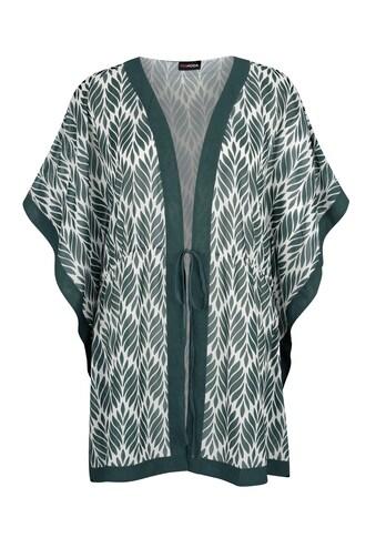 MIAMODA Blusenjacke, in weitschwingender Kaftanform kaufen