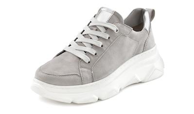 LASCANA Sneaker, aus Leder mit Chunky Außensohle kaufen