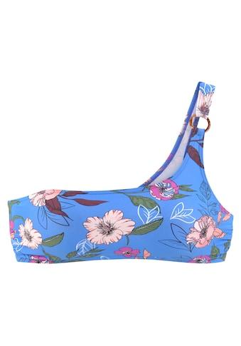 s.Oliver Bustier-Bikini-Top »Maya«, in One-Shoulder-Form und mit Zierring kaufen