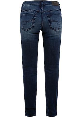 SOCCX Slim-fit-Jeans »KA:RA«, mit Doppelknopf am Bund kaufen