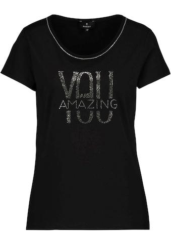 Monari Kurzarmshirt, glamourösen Strass-Statement kaufen