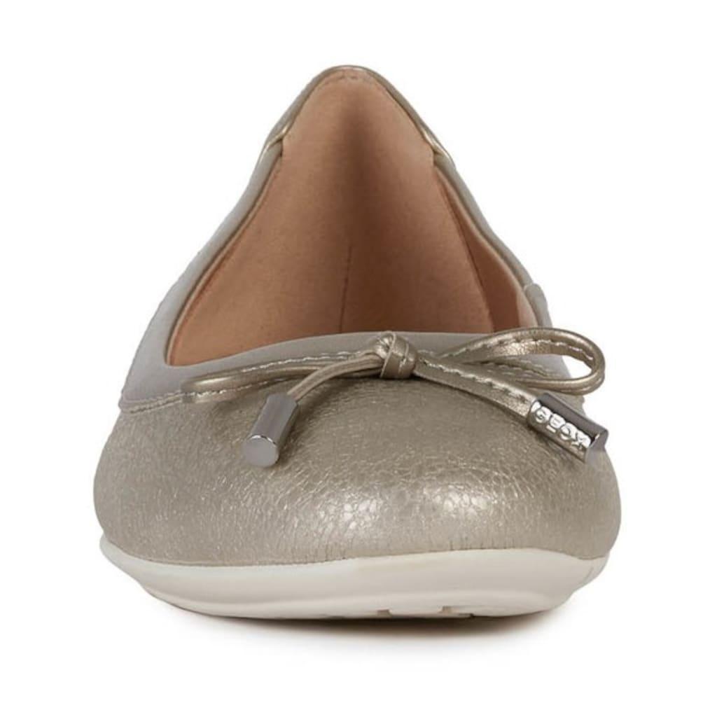 Geox Ballerina »CHARLENE«, im klassischen Design