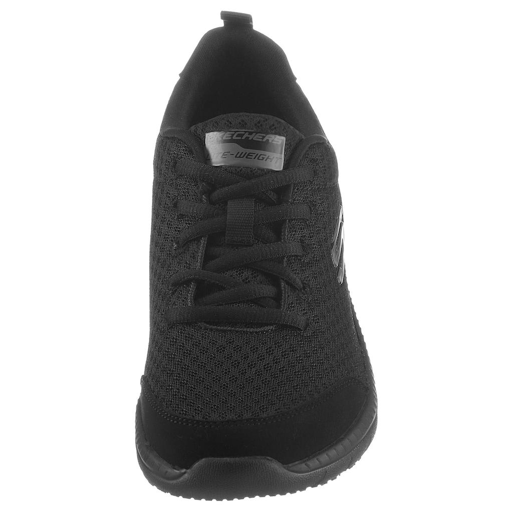 Skechers Sneaker »BOUNTIFUL«, mit gepolstertem Schaftrand