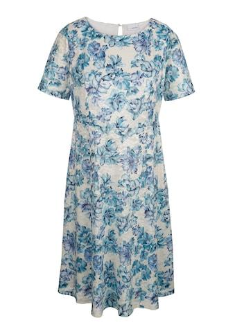 MIAMODA Spitzenkleid mit Blumendruckmuster kaufen
