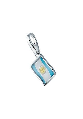 GIORGIO MARTELLO MILANO Charm-Einhänger »Flagge Argentinien, Silber 925« kaufen