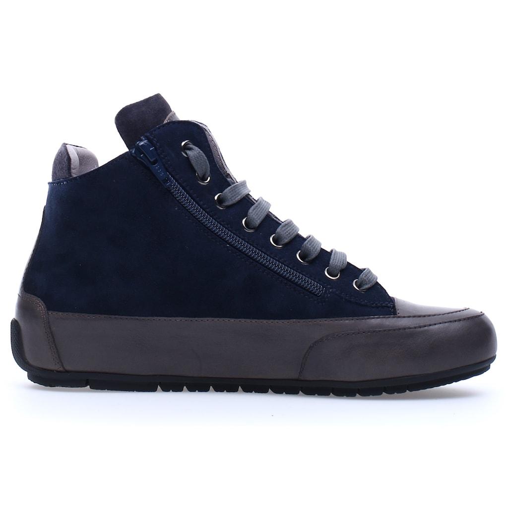 Candice Cooper Sneaker »LUCIA ZIP«, mit gepolstertem Schaftrand