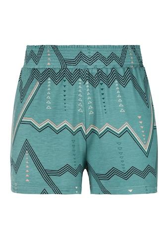 LASCANA Pyjamashorts, mit grafischem Zick-Zack Muster kaufen