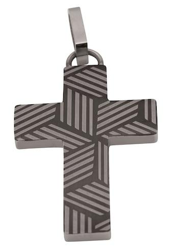 Firetti Kreuzanhänger »Für den Glauben, teilweise IP - beschichtet, matt und glänzend« kaufen