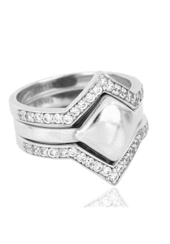 JULES & GENTS Ring-Set »#kairo Silber«, 925/- Sterlingsilber rhodiniert kaufen