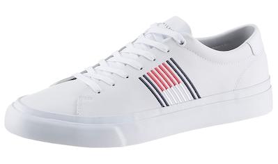 TOMMY HILFIGER Sneaker »LEON23A  -  CORPORATE LEATHER SNEAKER« kaufen