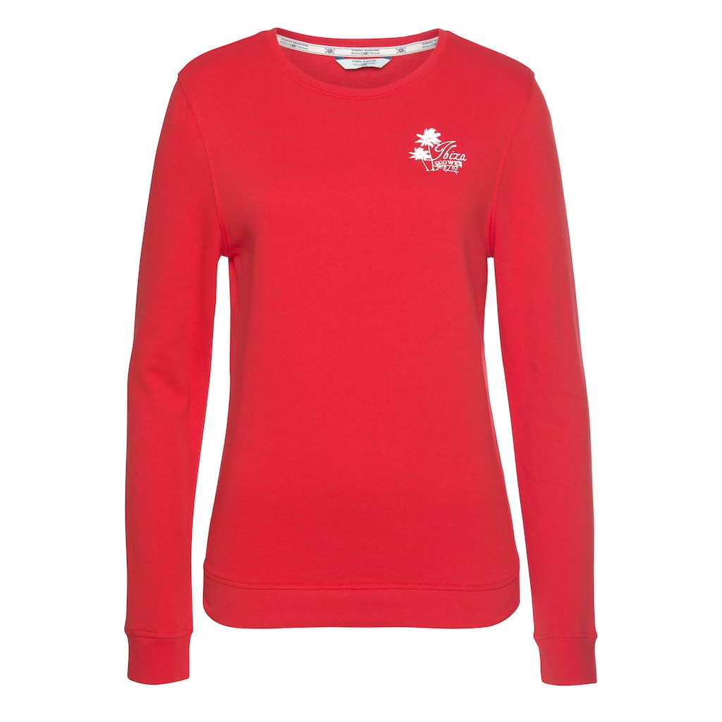 TOM TAILOR Polo Team Sweatshirt (Set, 2 tlg., mit T-Shirt)
