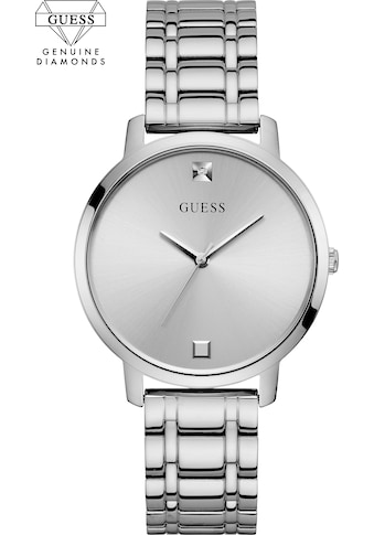 Guess Quarzuhr »GENUINE DIAMOND, W1313L1« kaufen