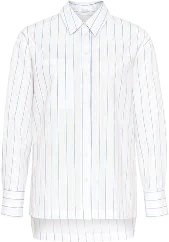 OPUS Hemdbluse »Funala Stripe«, an der Seitennaht mit Schlitz und Knöpfen kaufen