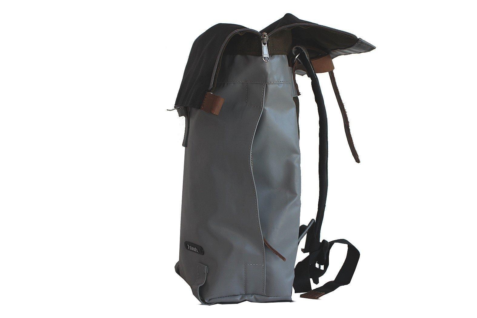 7clouds cityrucksack dwars 72 Rucksack aus Persenning (Bootabdeckungsplane) csb47