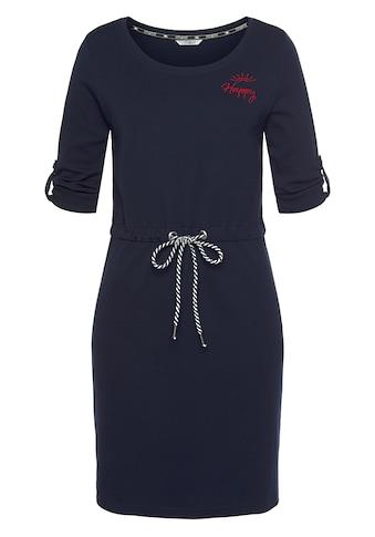 TOM TAILOR Polo Team Jerseykleid, mit regulierbarer Kordel in der Taille kaufen