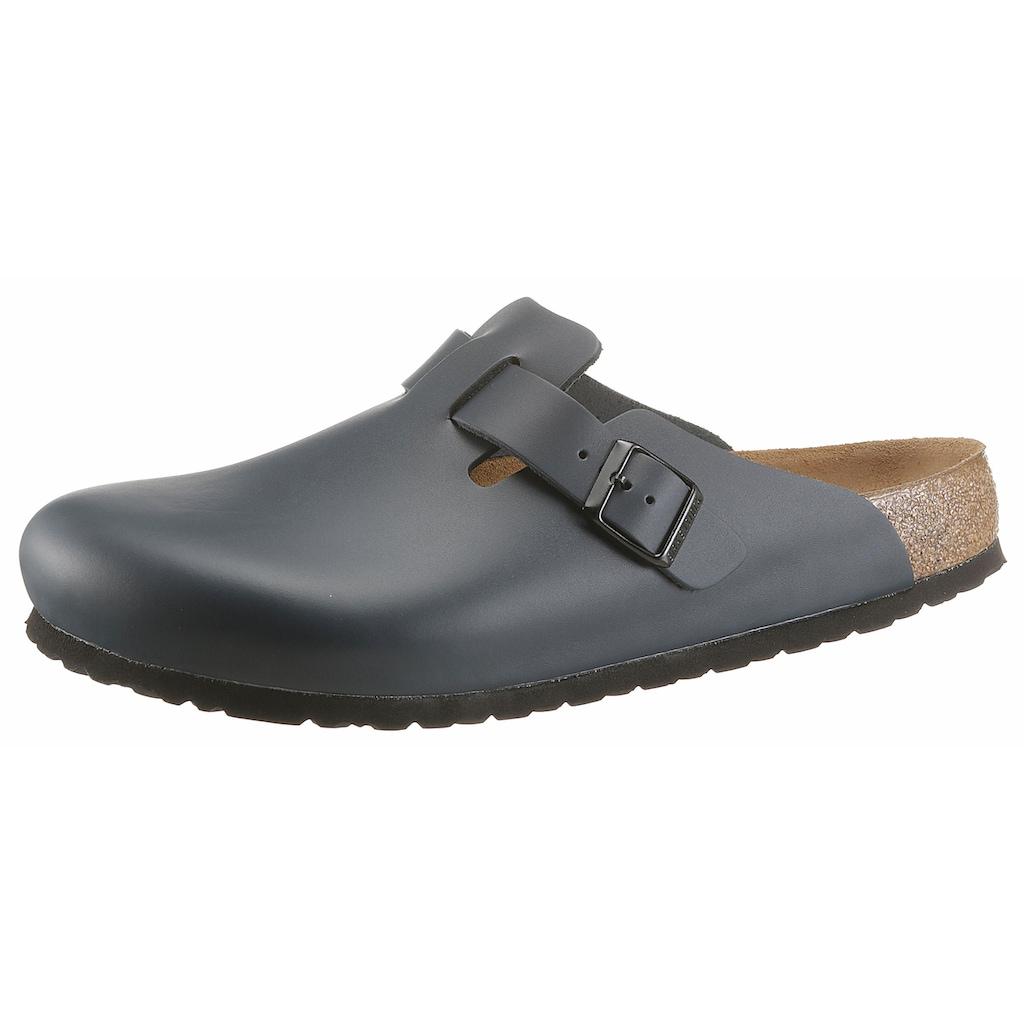 Birkenstock Clog »BOSTON«, mit ergonomisch geformten Fußbett