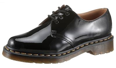 DR. MARTENS Schnürschuh »1461 3 Eye Shoe black Patent Lamper«, in Glanzoptik kaufen