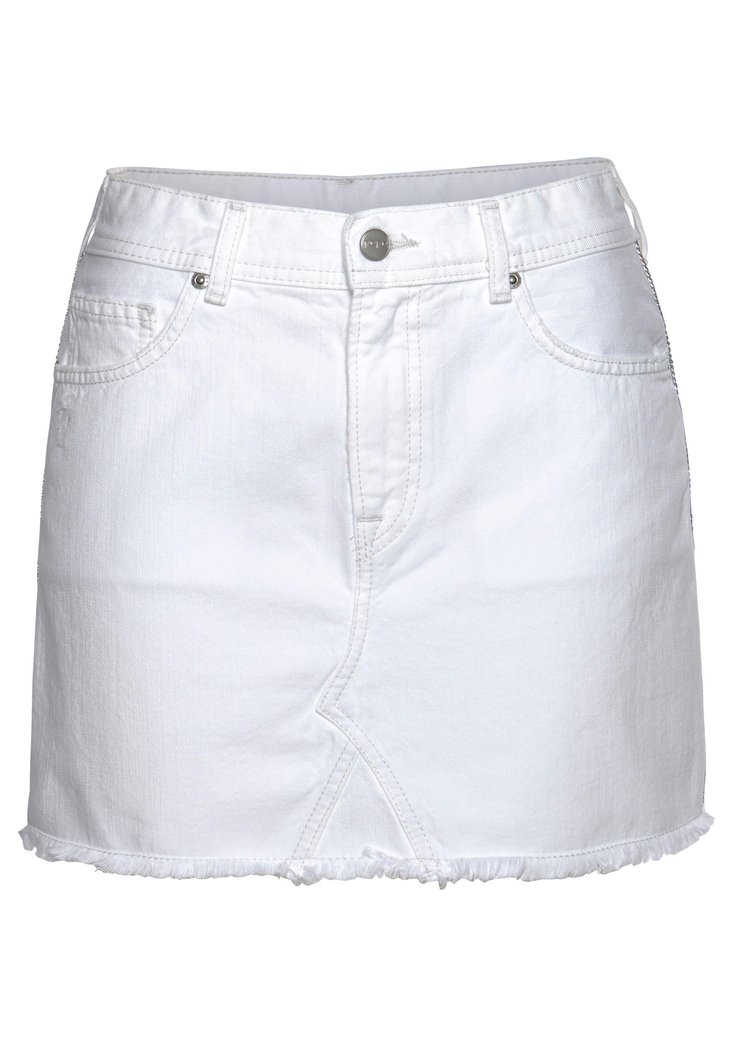 pepe jeans -  Jeansrock DANI BLING