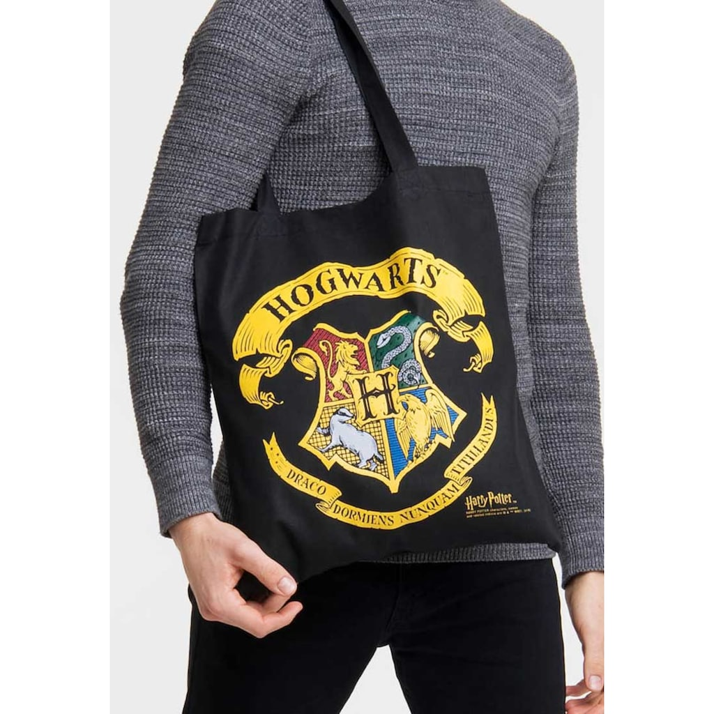 LOGOSHIRT Tasche mit auffälligem Wappen-Print