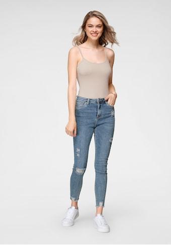 HaILY'S High-waist-Jeans »NESSI«, in 7/8 Länge kaufen