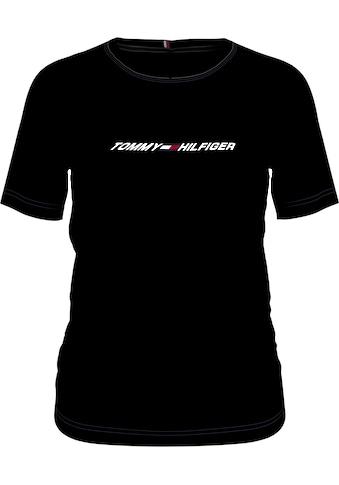 Tommy Hilfiger Sport T-Shirt »LIGHT INTENSITY LBR RACER BRA«, mit Tommy Hilfiger Sport... kaufen