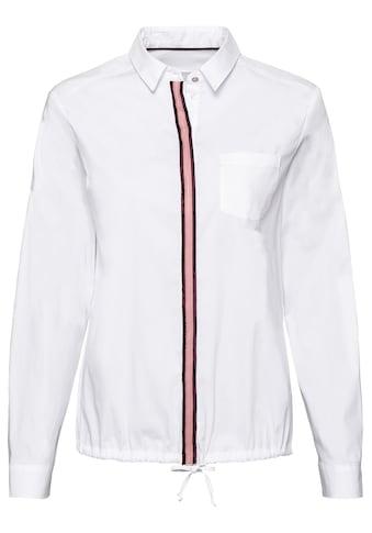 bianca Hemdbluse »ANINA«, mit trendigem Kontraststreifen kaufen