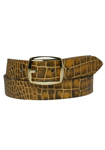 AnnaMatoni Ledergürtel, im Reptilien-Look kaufen