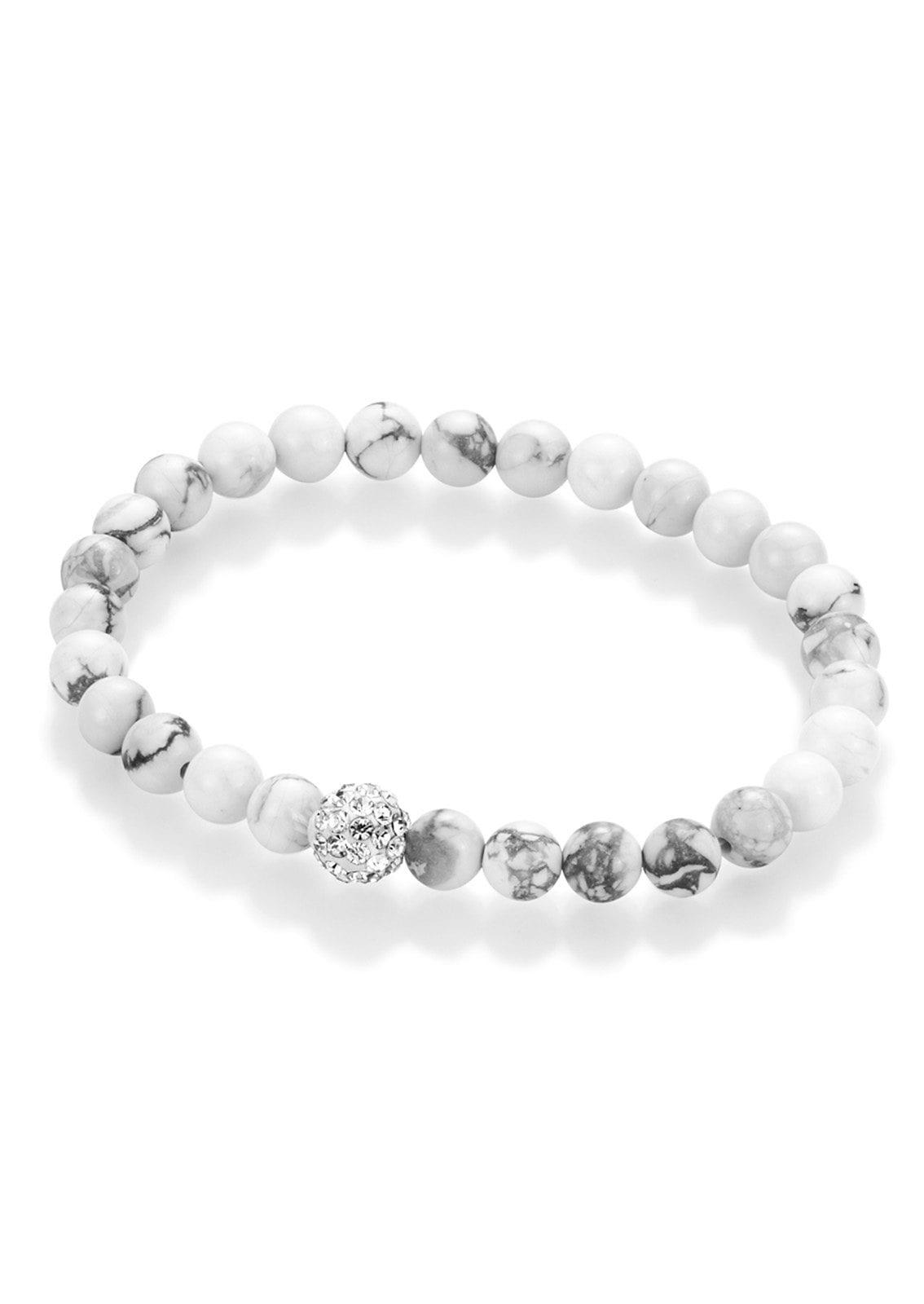 Firetti Armband Perlen aus Howlith