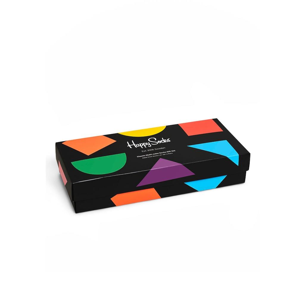 Happy Socks Socken, (4 Paar), in ansprechender Geschenkverpackung