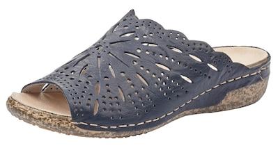 Rieker Pantolette, mit luftiger Perforation kaufen