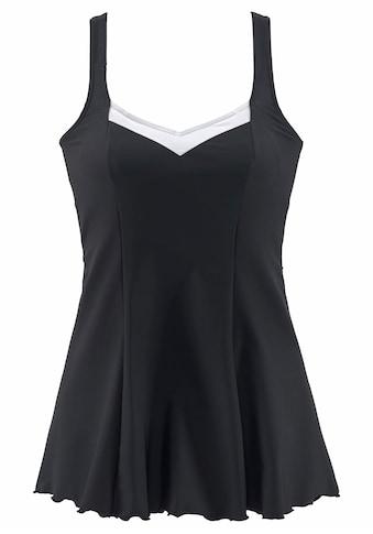 LASCANA Badekleid, mit Kontrasteinsätzen kaufen