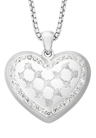 Joop! Herzkette »2023539«, mit Zirkonia kaufen