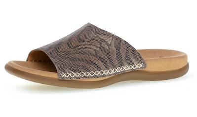 Gabor Pantolette, in Mosaik-Optik kaufen