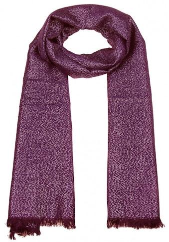 leslii Schal mit Glitzer - Faden kaufen
