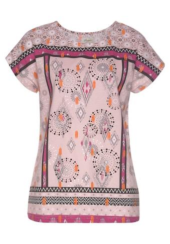 Boysen's Print-Shirt, mit Ethnodruck kaufen