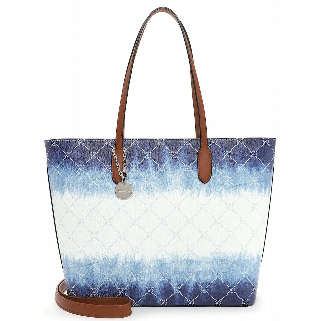 Tamaris Shopper »Anastasia Batic«, in schickem Batic-Design