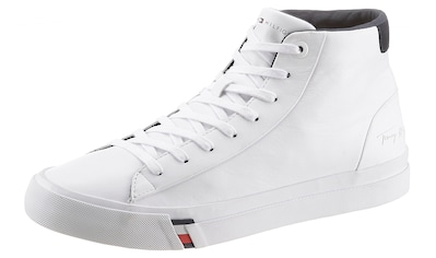 TOMMY HILFIGER Sneaker »CORPORATE LEATHER SNEAKER HIGH« kaufen