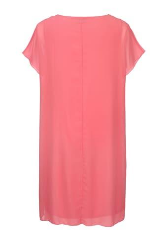 MIAMODA Kleid mit geschmücktem Rundhalsausschnitt kaufen