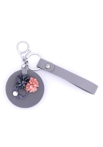 J.Jayz Schlüsselanhänger »mit Blüten und klappbarem Kosmetikspiegel« kaufen