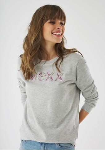 Mexx Sweatshirt, mit Logo-Perlen Stickerei kaufen