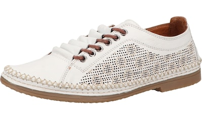 COSMOS Comfort Schnürschuh »Leder« kaufen