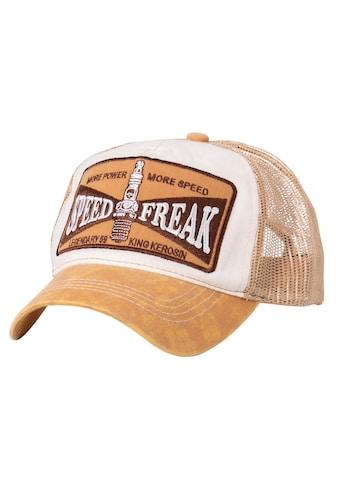 KingKerosin Trucker Cap »Speed Freak«, in Used-Optik kaufen