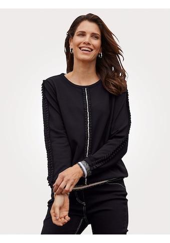 Mona Sweatshirt, mit modernen Rüschendetails kaufen
