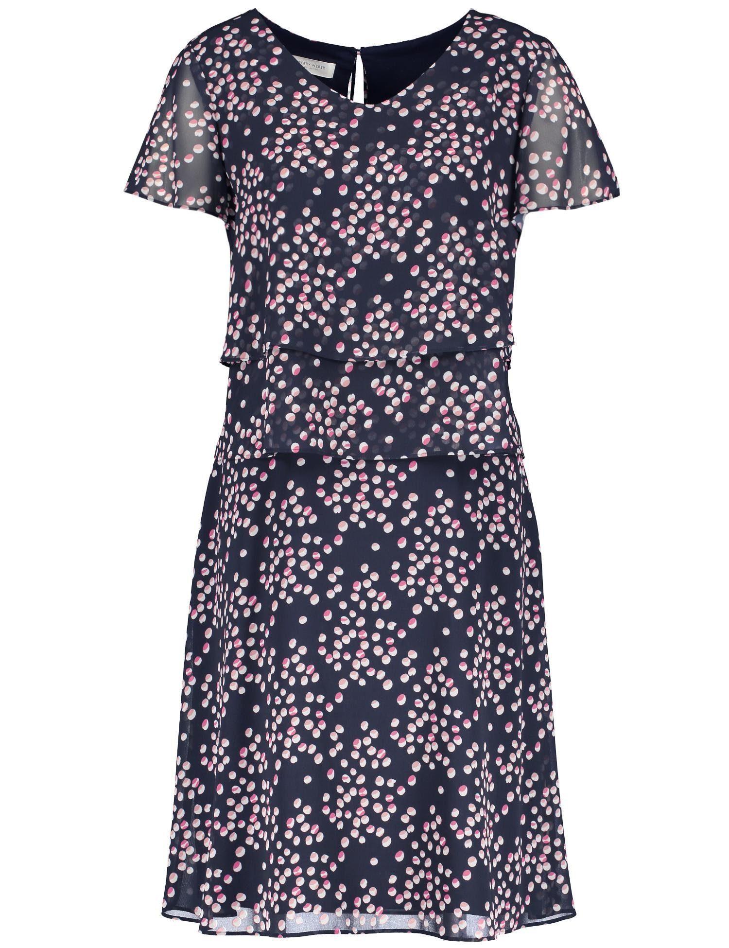 super popular 6b389 dcff5 GERRY WEBER Kleid Gewebe »Kleid mit Überwurfeffekt«