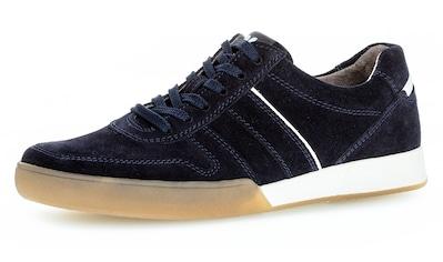 Pius Gabor Sneaker, mit kontrastfarbenem Einsatz kaufen