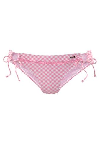 Buffalo Bikini-Hose »Karo«, mit Zierborte kaufen