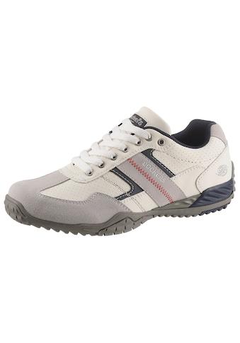Dockers by Gerli Sneaker, mit kontrastfarbenen Besätzen kaufen