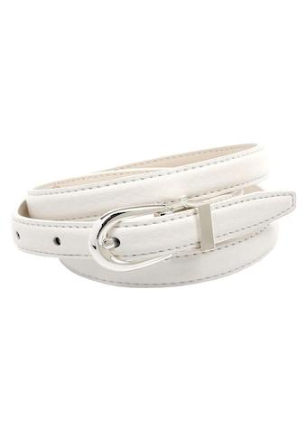 Anthoni Crown Ledergürtel, in schmaler Form mit Metallschlaufe kaufen