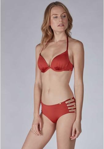 Skiny Triangel-Bikinioberteil in glänzendem Design kaufen