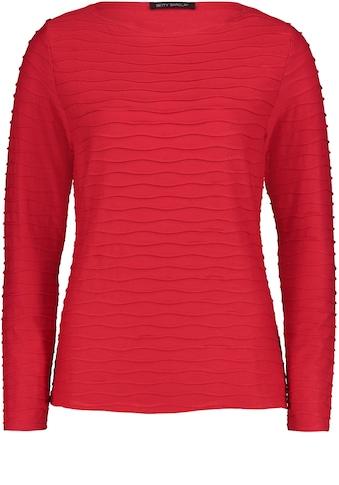 Betty Barclay Rundhalsshirt, mit Wellenmuster kaufen